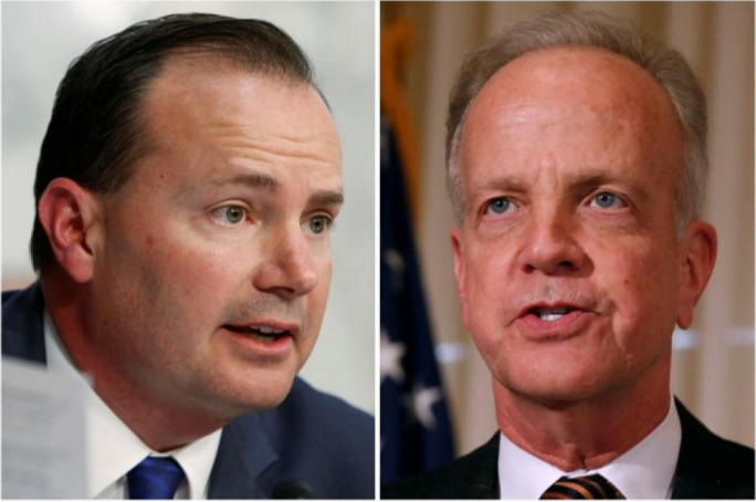 Republican senators Mike Lee and Jerry Moran announced their opposition to the Bill on Monday