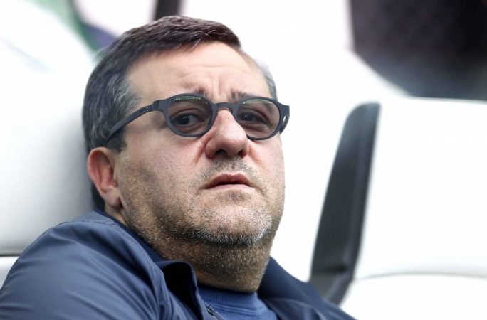 Raiola cops suspension in Italy
