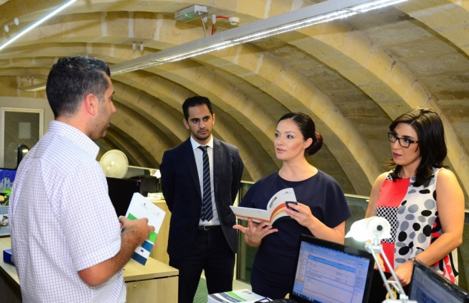 Labour MEP Miriam Dalli visits the Malta Communications Authority offices