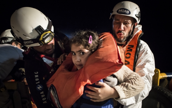In 2016, MOAS rescues 117 people (Photo:File)