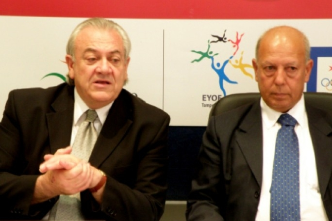 MOC president Judge Lino Farrugia Sacco (left) with Joe Cassar.