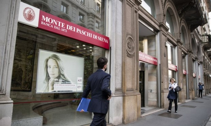 Shares in Banca Monte dei Paschi di Siena were up on Monday after it said it would go ahead with its private rescue plan (Photo: Getty Images)
