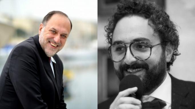 Mario Philip Azzopardi (left) and Sean Buhagiar (right)