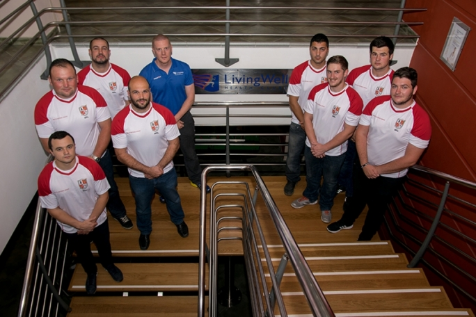 The malta Rugby League National Squad. Photo by Justin Ciappara