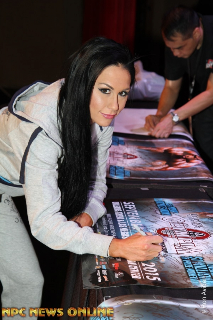 Ashley Kaltwasser will be looking to defend her Bikini Olympia title this weekend. Photo by NPC News Online