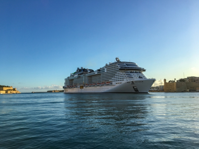 MSC Seashore floats out in in Monfalcone, Italy | Gallery