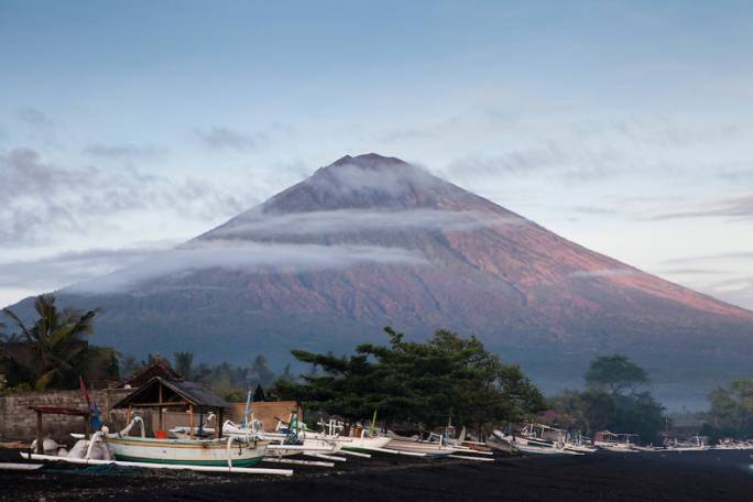 Bali's highest volcano Mt Agung (Photo: Phil Hill Travel Photographer)