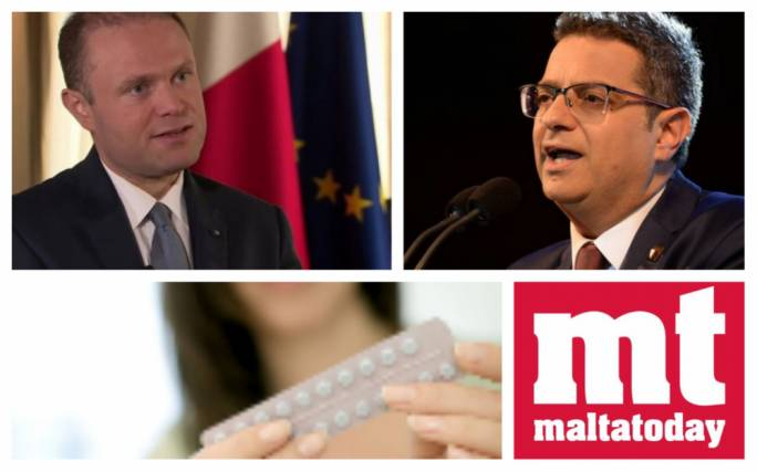 [WATCH] Adrian Delia's bounce, Joseph Muscat's slide and the No to abortion