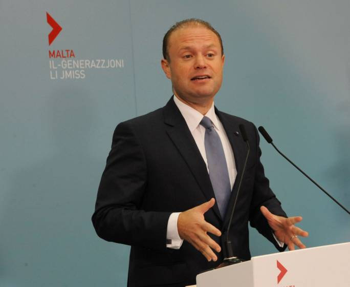 Prime Minister Joseph Muscat