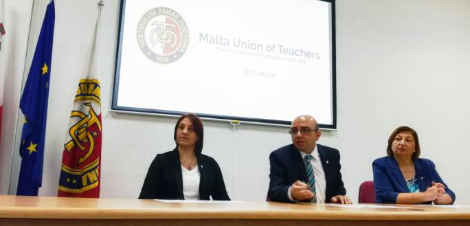 MUT President Marco Bonnici has called on the Ministry for Education and Employment to address the teacher shortage
