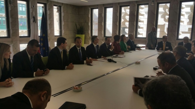 Opposition leader Simon Busuttil said he saw a great synergy between what constituted bodies are proposing and what the Nationalist Party is including in the documents