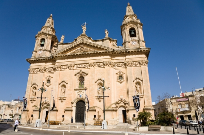 The Naxxar parish church is dedicated to the Nativity of the Blessed Virgin Mary