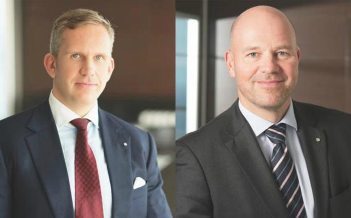 Nemea Bank owners The bank's co-chairmen Heikki Niemelä and Mika Lehto