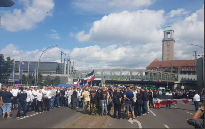 Germany Neo Nazi March