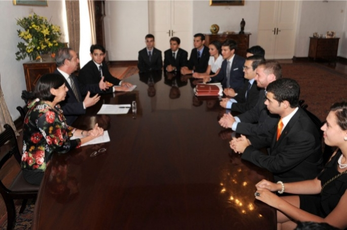 KSU meeting Prime Minister Lawrence Gonzi and Education Minister Dolores Cristina