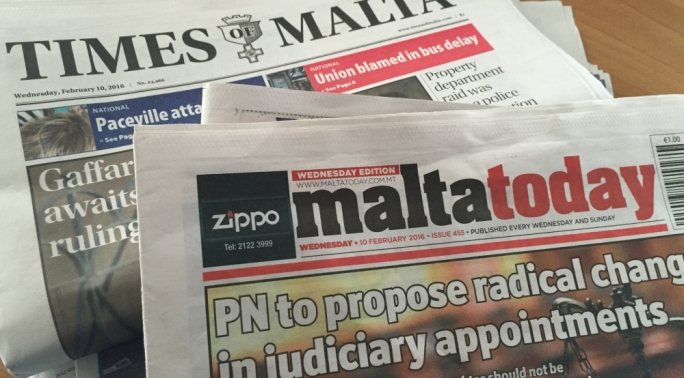Registration of editorial responsibility already exists in Malta under the Press Act. This serves little more than to establish said responsibility within a court of law when a plaintiff launches a defamation case