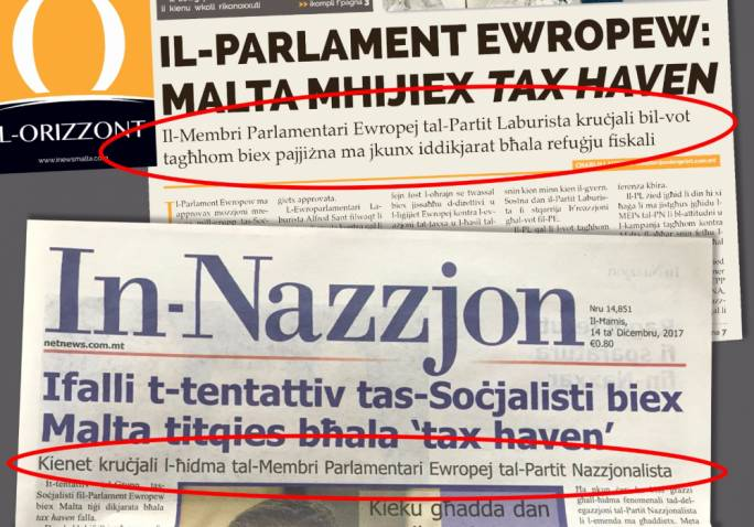 Two opposing views on who saved Malta from the blacklist