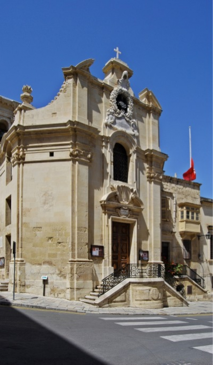 The Church of Our Lady in Valletta – known as 'Tal-Vitorja' – was the first resting place of Grandmaster La Vallette, before Valletta's founding father was moved to St John's Co-Cathedral in 1579.