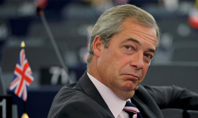 Nigel Farage scorned M5S's plans to sever ties, saying its founder Beppe Grillo wanted to join 'the Euro-fanatic establishment'