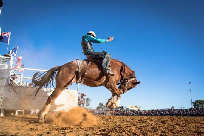Muwella Muster is home to the unforgettable annual rodeo
