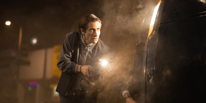 Blood-hack: Jake Gyllenhaal muscles his way into the morally corrupt world of LA crime journalism