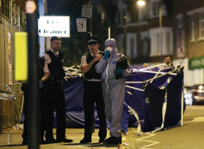 One dead after stabbing outside Parsons Green Tube station