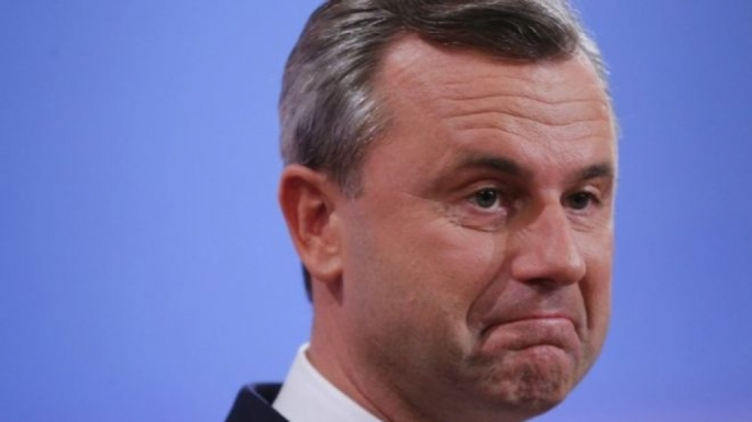 Norbert Hofer conceded defeat