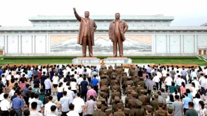North Korean square (Photo: Reuters)