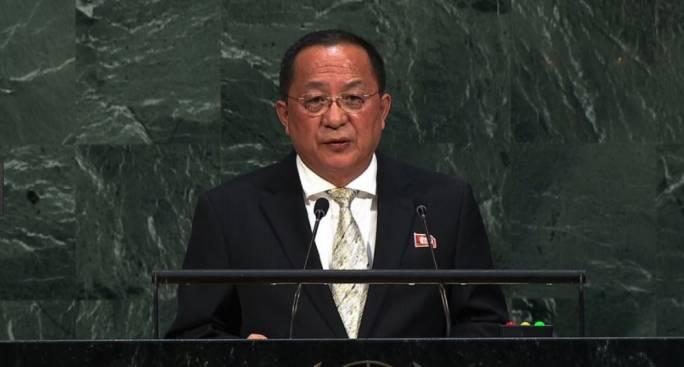 North Korean Foreign Minister Ri Jong-Ho