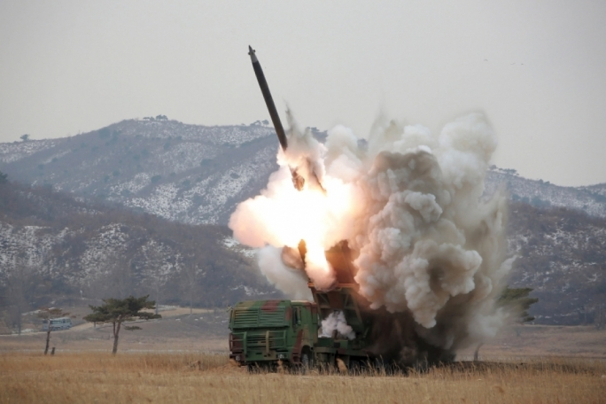 Pyongyang has carried out a number of missile tests in recent months