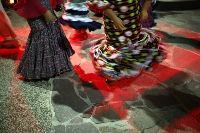 A performer at last year's NotteBianca Photo: Darrin Zammit Lupi
