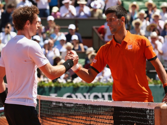 Novak Djokovic was finally too strong for Andy Murray