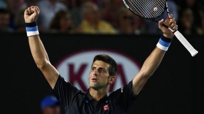 Novak Djokovic wins against Fernando Verdasco