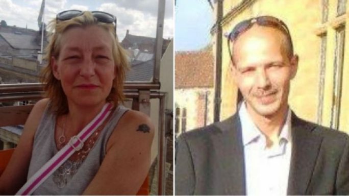 The couple, thought to be Dawn Sturgess and Charlie Rowley, who were poisoned by nerve agent Novichok, seven miles away from where ex-Russian spy Sergei Skripal and his daughter were poisoned by the same agent (Source: Facebook)