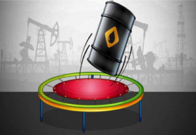 The volatile trading in oil saw the commodity seesawing between losses and gains