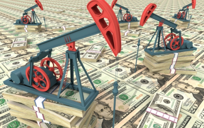Crude oil shot over $51 a barrel after it extended its winning streak by a further 4.55%