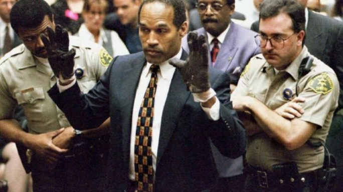OJ Simpson was released on parole after serving nine years in a Nevada jail