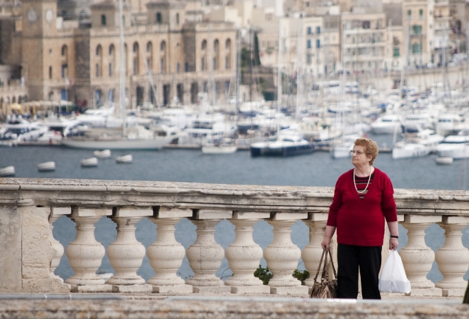 If you're going to Valletta tonight... catch a bus