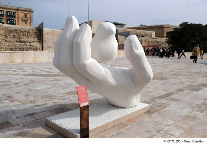 Pigs, cows and birds: V18 installations celebrate Maltese idiom