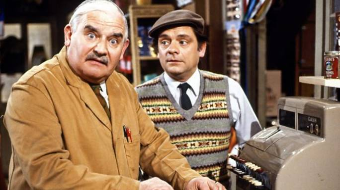The popular TV series written for the BBC, 'Open all Hours'