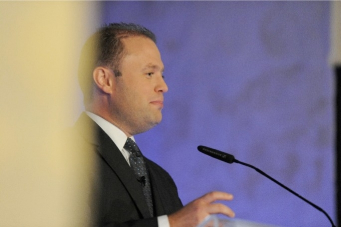 Opposition leader Joseph Muscat had an open dialogue session with members of the Chamber of Commerce this afternoon