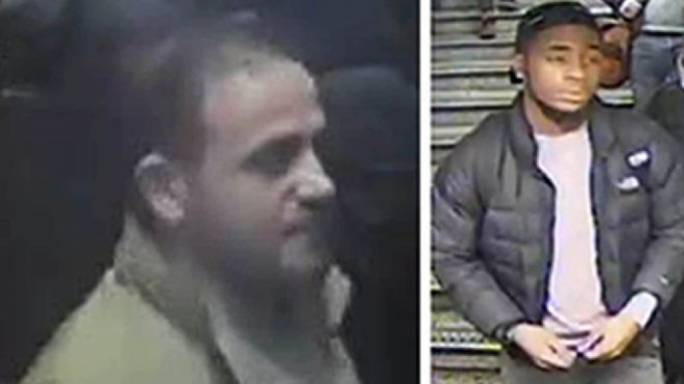 The police want to speak to two men, after an 'altercation' took place at a central London tube station