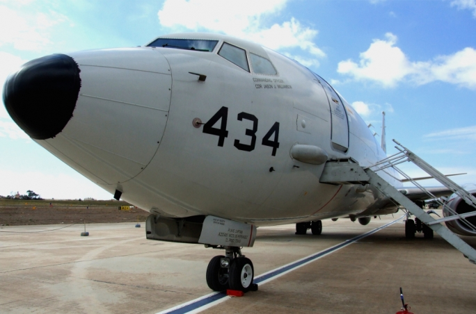 P-8 Poseidon maritime patrol aircraft of the US Navy