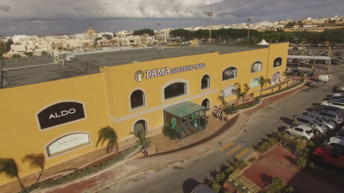 Zara, PAVI and the PAMA shopping village in Mosta, cash generators by their very nature, are at the heart of the company's wider operations