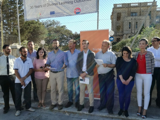 Partit Demokratiku condemns development plans for old Mtarfa hospital