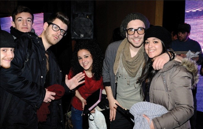 The song This is the Night, performed by Kurt Calleja (second from right) will be representing Malta at this year's Eurovision Song Contest in Baku, Azerbaijan, though the band will not be joined by former backup singer Ylenia Vella (centre).