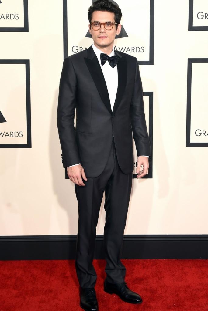 Singer John Mayer at the 2015 Grammy Awards