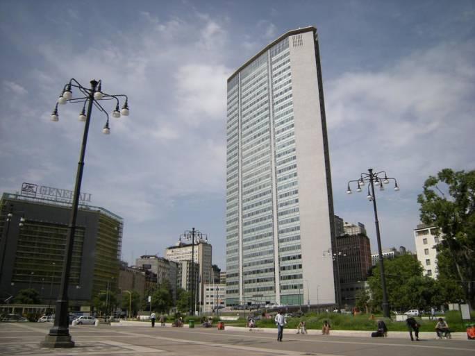 Milan's Pirelli Building