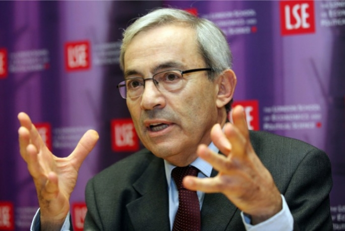 Nobel laureate and head of Cyprus economic Council Christopher Pissarides
