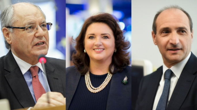 Edward Scicluna, Helena Dalli and Chris Fearne seek deputy leadership post